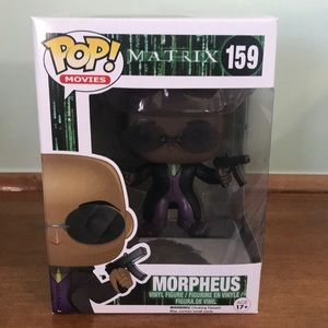 Funko Pop Morpheus Matrix 2015 Vaulted